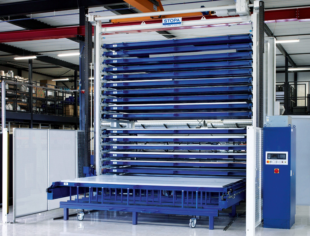 Stopa Tower Flex Sheet Metal Storage Systems