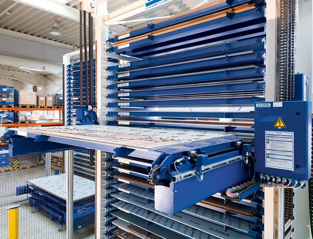 Tower Auto Sales >> STOPA Tower Flex | Sheet Metal Storage Systems