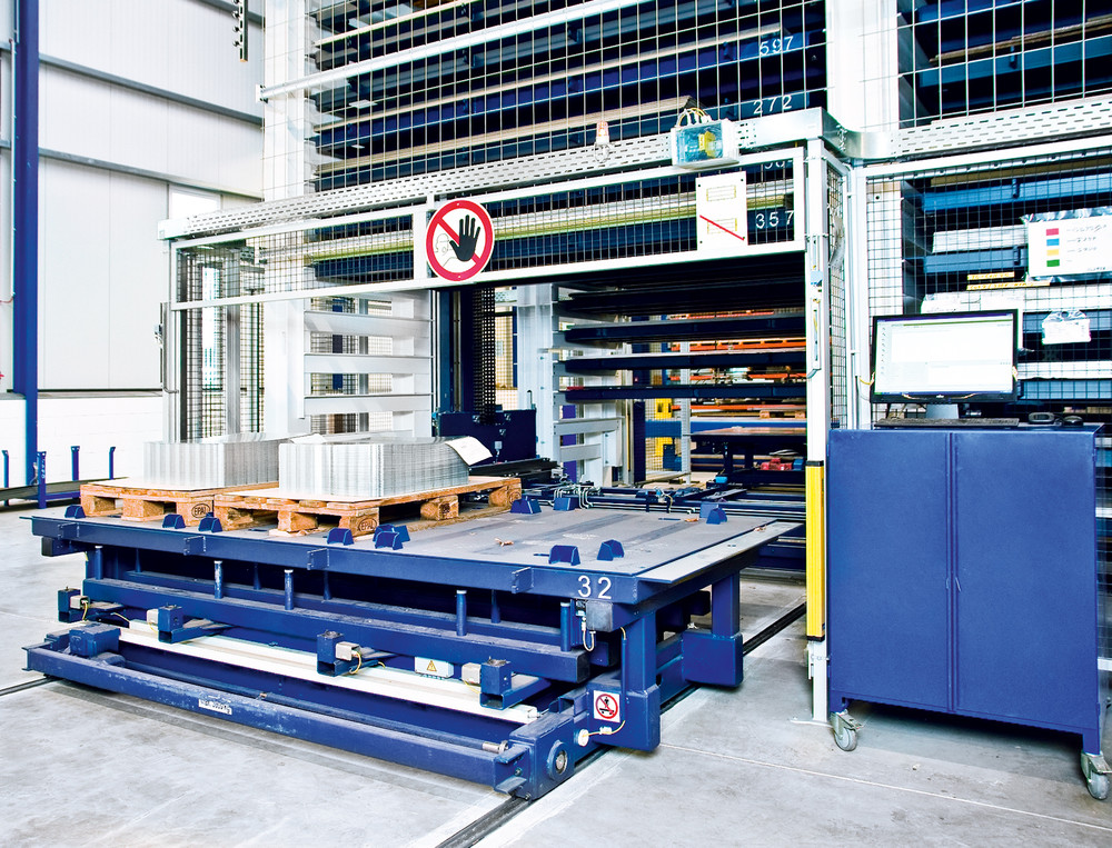Stopa Tower Eco Sheet Metal Storage Systems