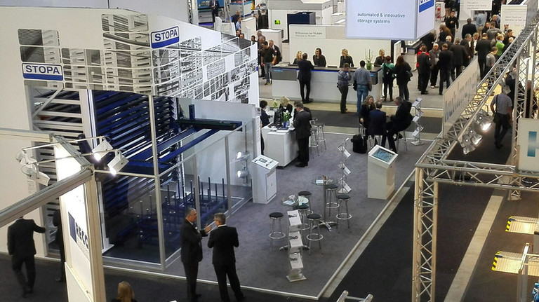 STOPA TOWER Eco auf Blechexpo 2015