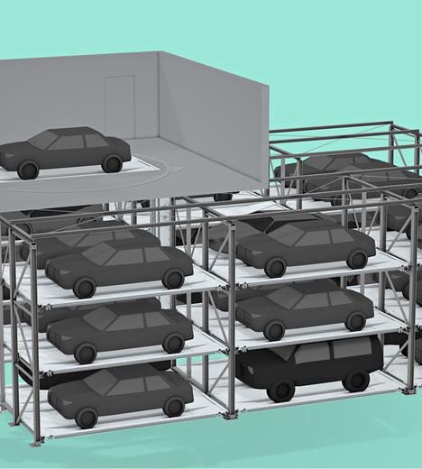 Auto Transport Carriers >> Parking System auto-LP