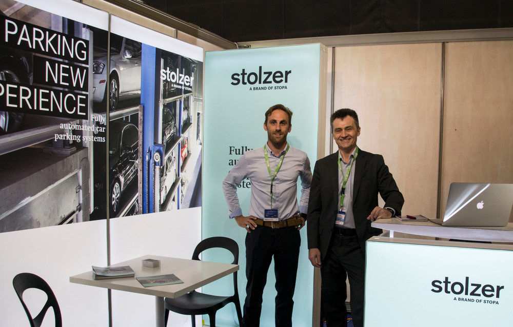 LIFT SYSTEME et STOPA STOLZER salon du parking
